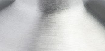 Grinding metal surface