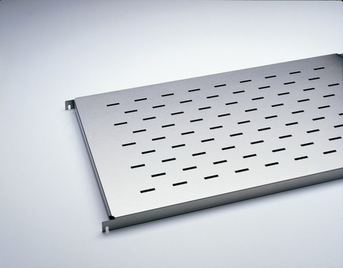 hig-grade steel shelf - type: slotted